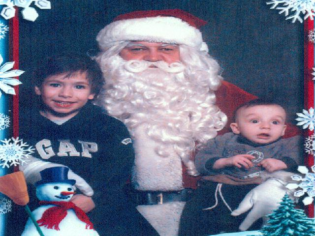 Leo, Mario and Santa
